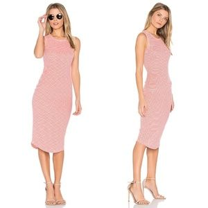 Cupcakes and Cashmere Rydell Midi Bodycon Dress S